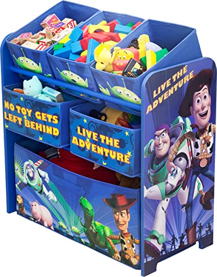 Disney Pixar Toy Story Multi Bin Toy Organizer