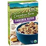 Cascadian Farm Organic Cinnamon Raisin Granola 15.6 Ounce