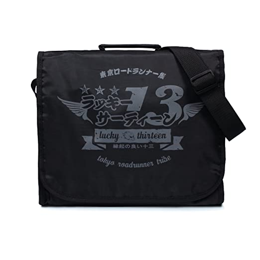 fb6ad401649f Japanese Tokyo Roadrunner LP Record Bag - Vintage Retro Style DJ Vinyl  Records Messenger Shoulder Bag