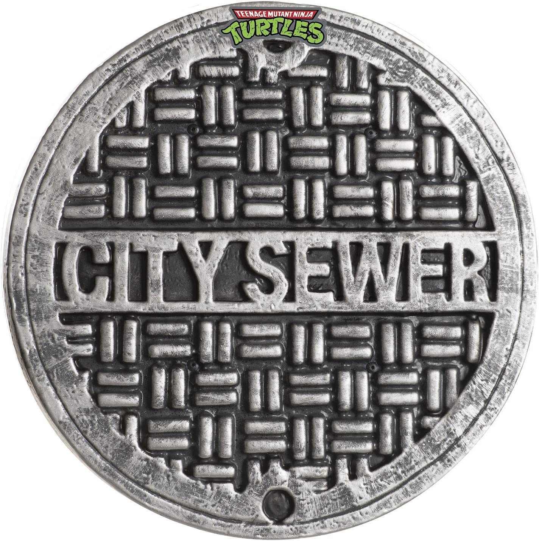 "MyPartyShirt Teenage Mutant Ninja Turtles 12"" City Sewer Cover Shield"