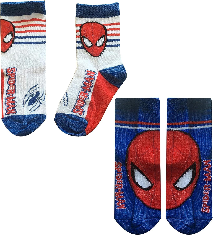 Boys Spiderman Socks Pack of 2 Design 3