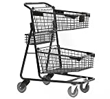 Advance Carts 100x-Black-3pack X-Series Shopping