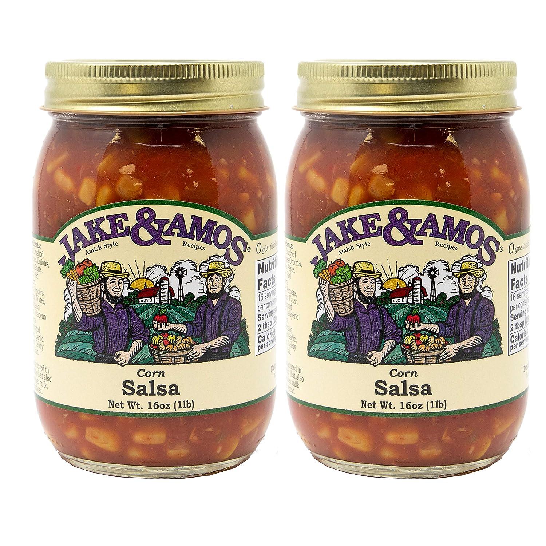 Jake & Amos Corn Salsa 16oz (pack of 2)