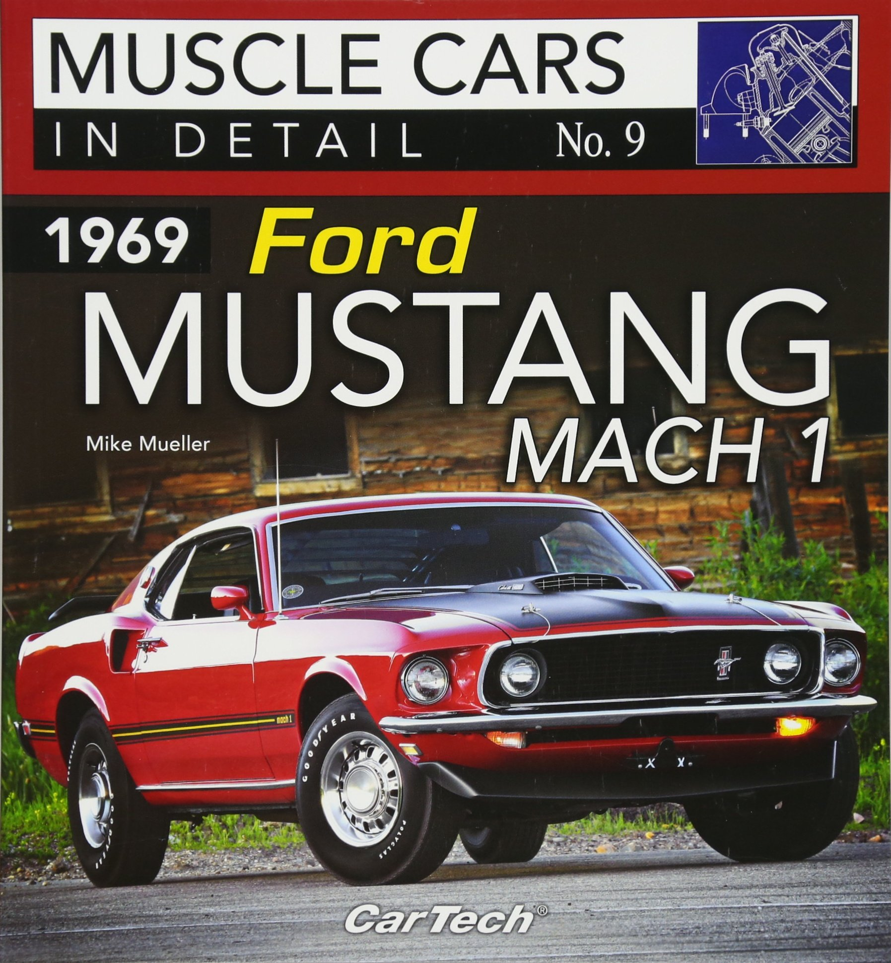 1969 ford mustang mach 1 muscle cars in detail no 9 paperback january 9 2018