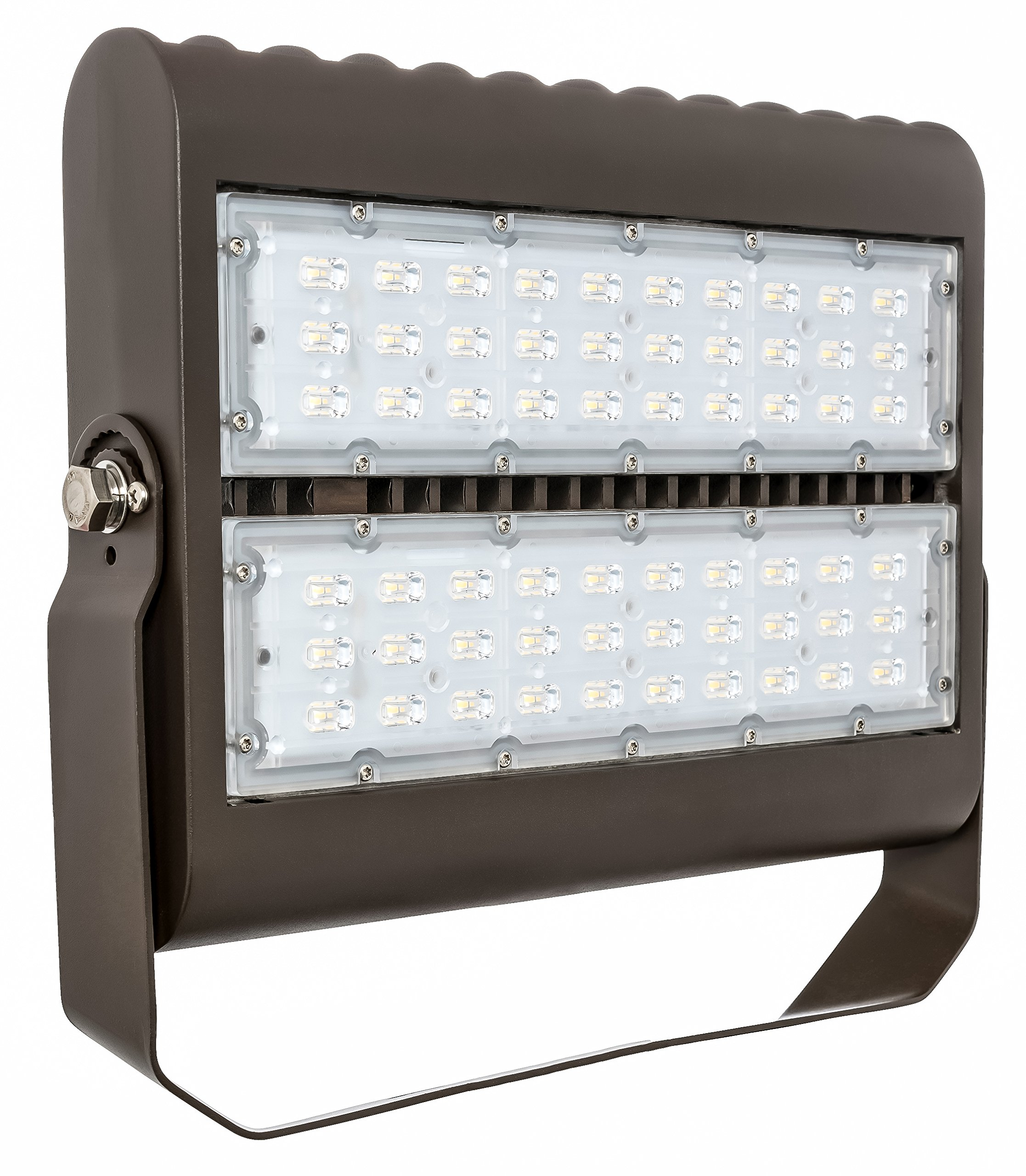 Westgate Lighting Flood Light Series-Die cast Aluminium housing with white powder coat finish -7 Year Unlimited Warranty (100W, 3000K Warm White)