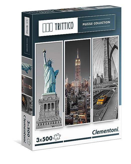 6 opinioni per Clementoni 39305- New York Puzzle Trittico, 3x500 Pezzi