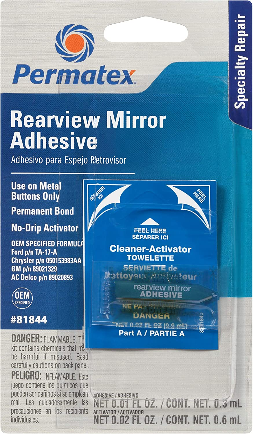 Permatex best rear view mirror glue