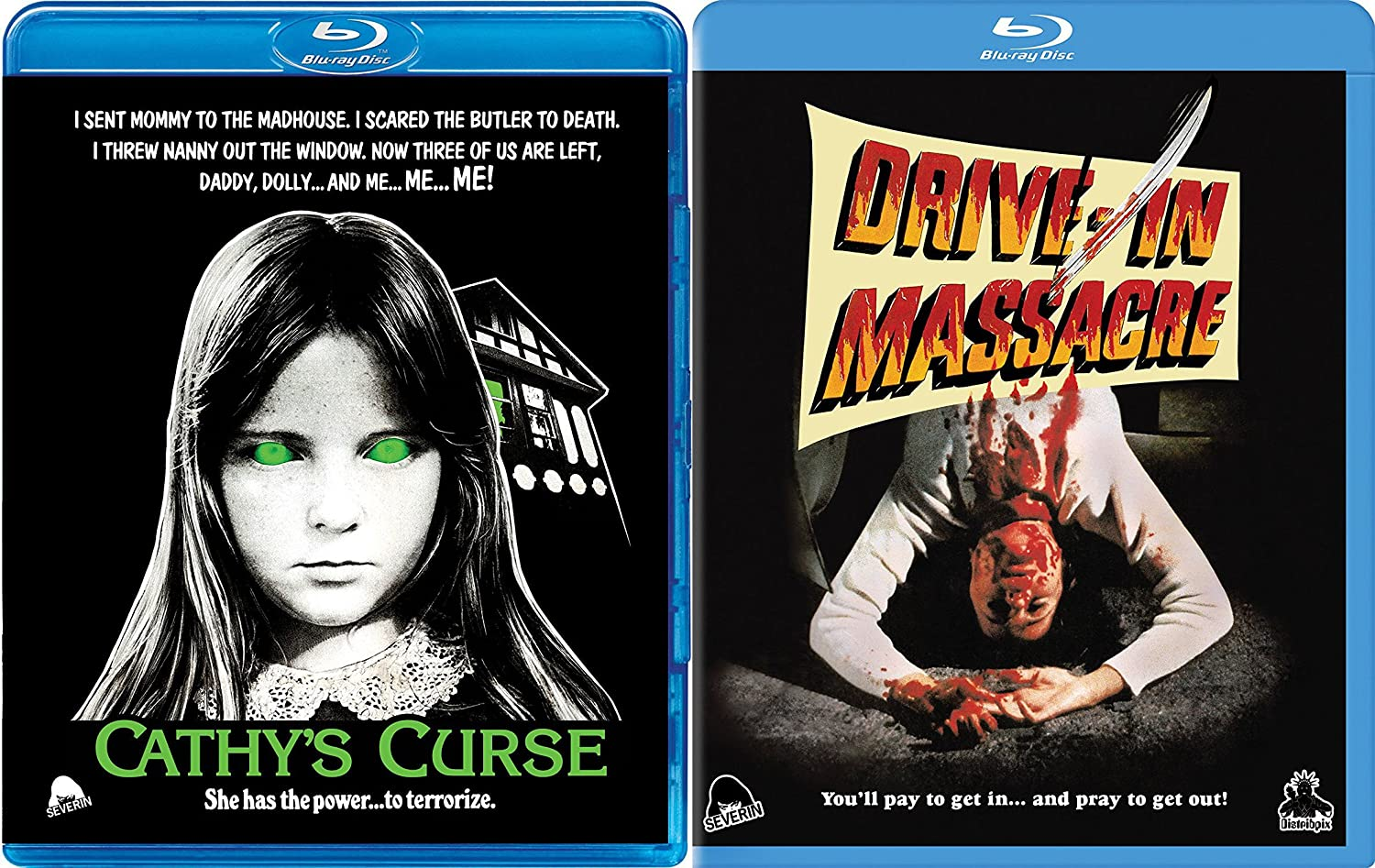 Amazon com: Cult Classic Horror Double Feature - Drive-In