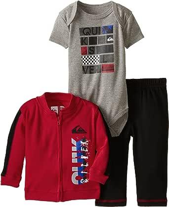 Amazon.com: Quiksilver Baby-Boys Newborn Jacket Pants ...