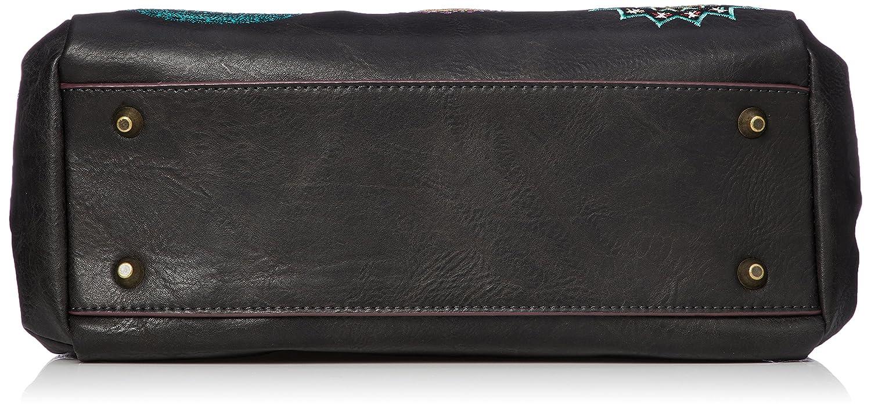 a578952a3a4 Desigual Siara Loverty Shoulder Bag Negro  Amazon.es  Zapatos y complementos