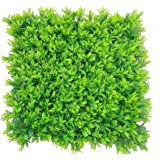 Hyperboles Artificial Topiary Hedge Plant Privacy Fence Screen Greenery Panels for Both Outdoor Or Indoor, Garden Or Backyard Decoration(1.5 * 2feet)