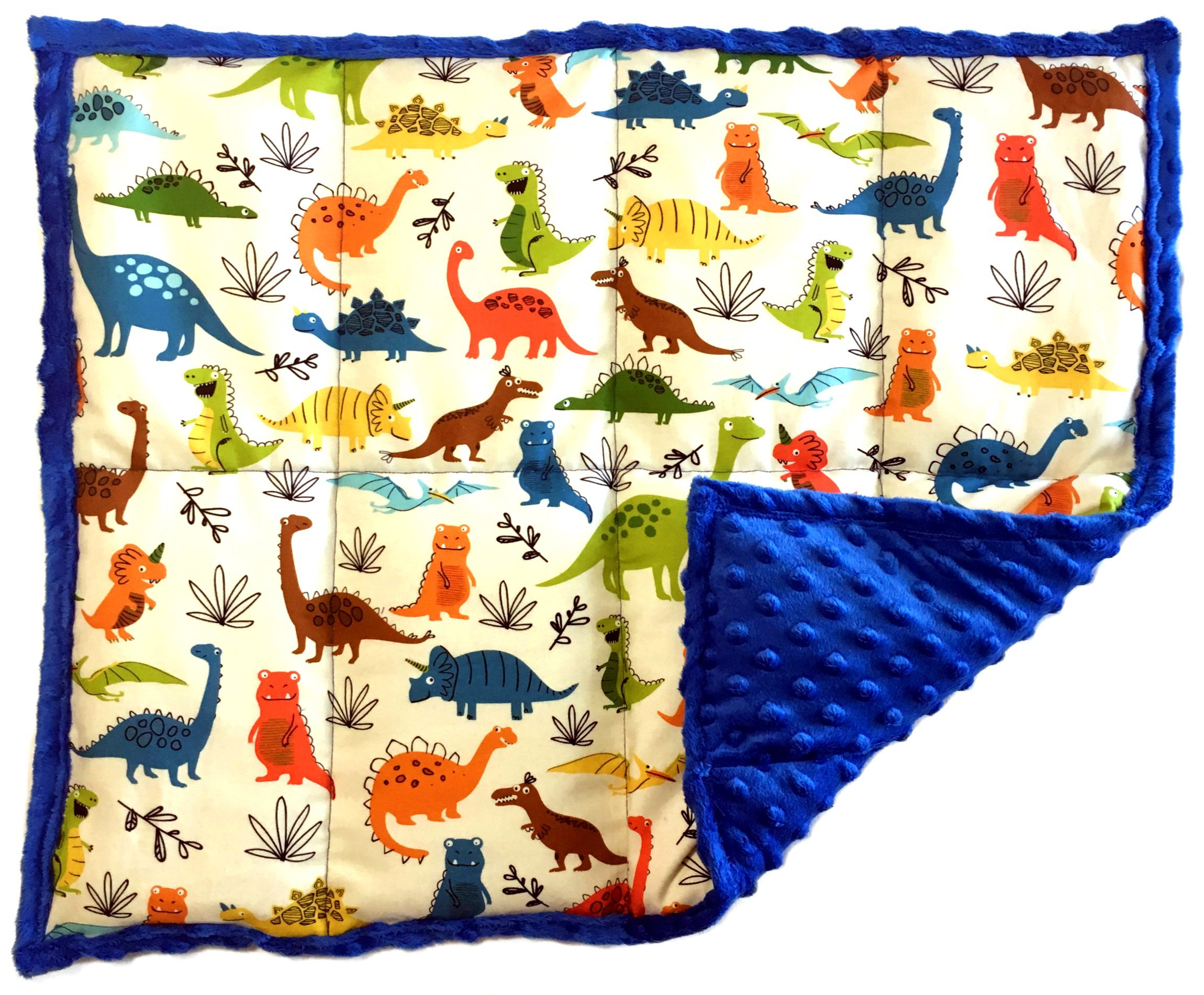 Weighted Sensory Lap Pads (5 lbs, DinoRoars)