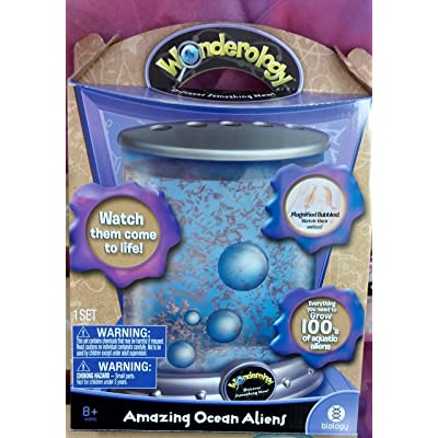 Wonderology Science Kit Amazing Ocean Aliens: Toys & Games