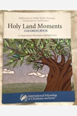 Holy Land Moments Coloring Book Paperback