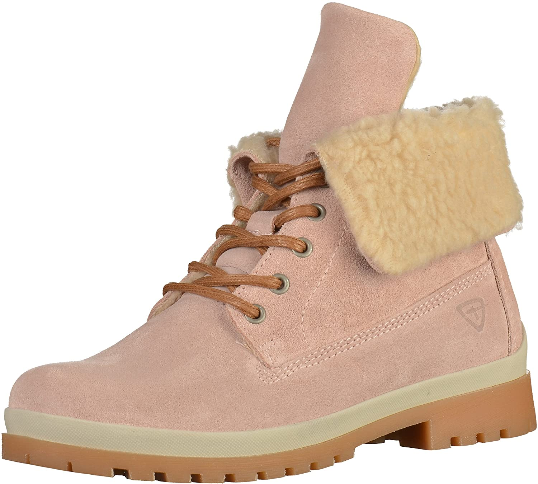Tamaris - botines de caño bajo Mujer Rosa