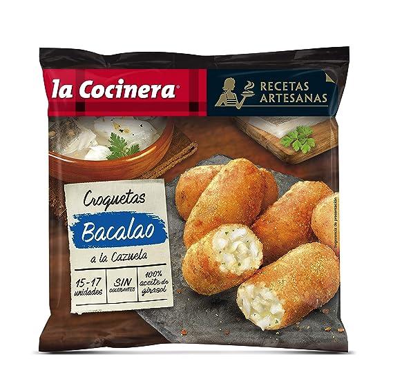 La Cocinera Recetas Artesanas - Croquetas de Bacalao a la Cazuela, 500 g