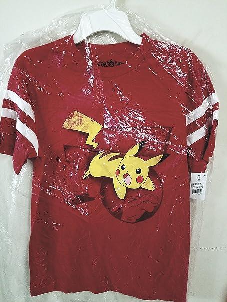 Pokemon, mens, medium, cotton, t-shirt jetsey at Amazon Mens ...