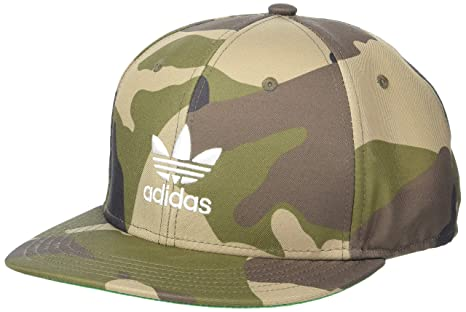 97821a3cc72 Amazon.com  adidas Men s Originals Trefoil AW Snapback Cap