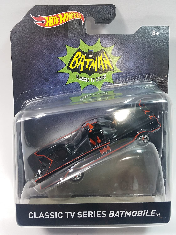 Hot Wheels Batman TV Series 1966 Batmobile 1:50 Scale Die Cast Vehicle New!