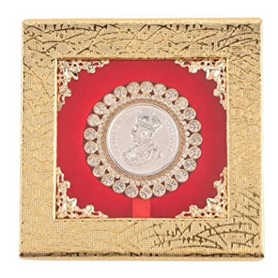 Buy Osasbazaar Silver Coin Round with Designer Packing - 99% Pure