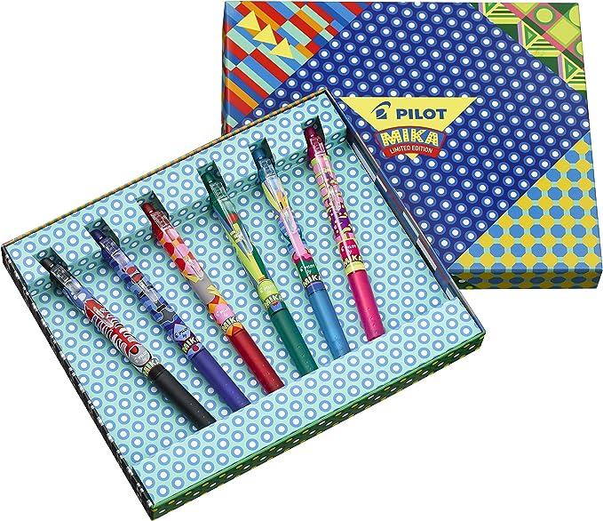 Pilot FriXion Clicker Mika - Pack de 6 bolígrafos, color ...