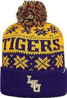 Top of the World LSU Tigers climat Cuffed Pom Bonnet en tricot Chapeau/Casquette