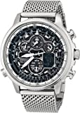 Citizen Men's JY8030-83E Eco-Drive Navihawk A-T Stainless Steel Watch
