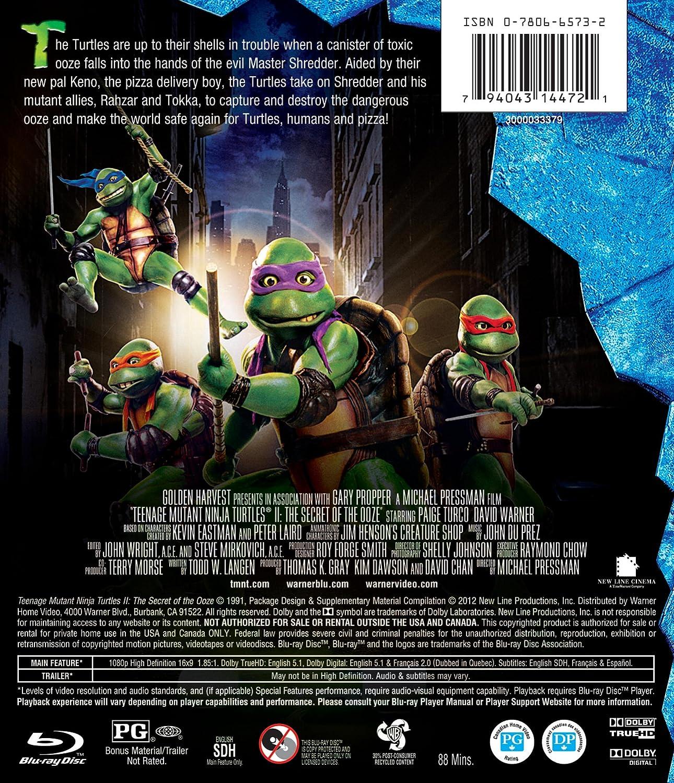 Amazon.com: Teenage Mutant Ninja Turtles II: The Secret of ...