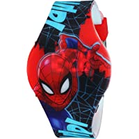 Marvel Boys' Quartz Plastic Strap, red, 21 Casual Watch (Model: SPD4492)
