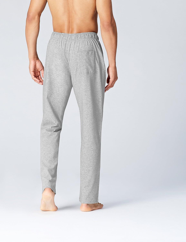 FIND Pantalón Largo de Pijama para Hombre, Gris (Grey Melange), 3X-Large: Amazon.es: Ropa y accesorios