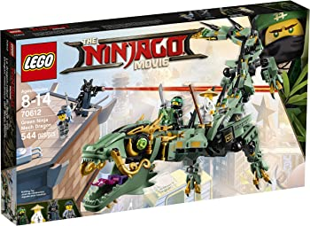 LEGO Ninjago Green Ninja Mech Dragon 70612 Building Kit