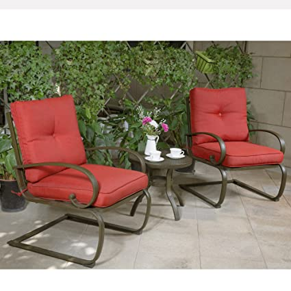 cloud mountain bistro table set outdoor bistro set patio cafe furniture seat wrought iron bistro - Patio Cafe