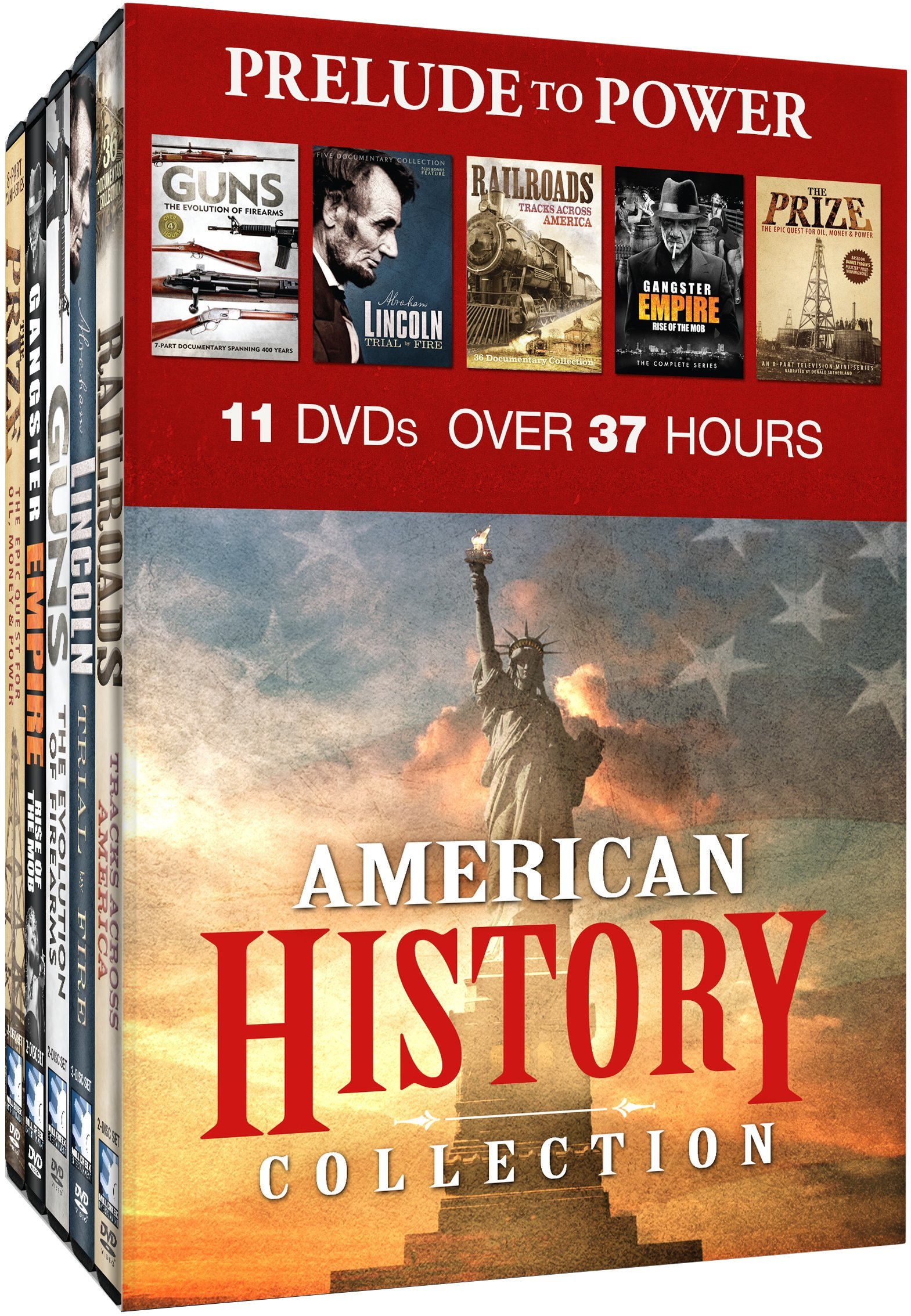 DVD : American History Collection: Prelude To Power (Boxed Set, 10PC)