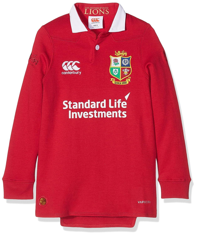 7c434dd052c British & Irish Lions Kid's VapoDri Matchday Classic Long Sleeve Jersey -  Tango Red, 12 Years: Amazon.co.uk: Sports & Outdoors