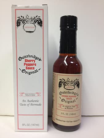 Outerbridge S Sherry Pepper Sauce 5oz Bottle