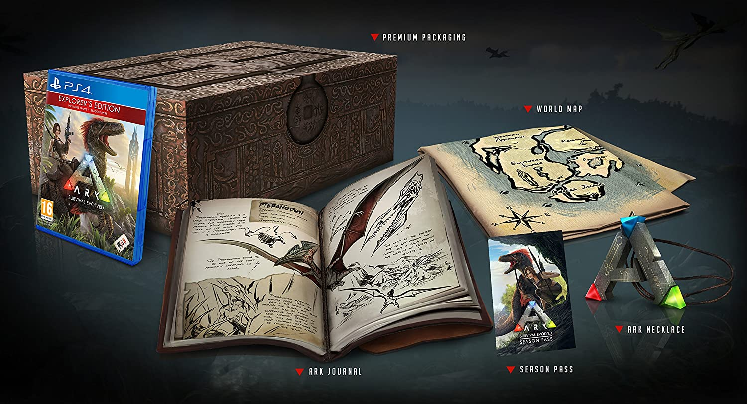 Evolved EdPlaystation Survival Ark Collector's 4importación xtBhQsrdC
