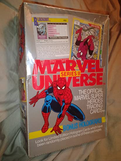 The Avengers In Color Series 2 Trading Card 36 Unopened Pack Box 1993