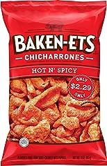 Baken-ets Baken Ets Hot & Spicy Fried Pork Skin 3 Oz