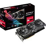 Asus Radeon RX 580 ROG Strix Gaming OC 8 GB GDDR5 DP/HDMI/DVI-D Graphics Card - Black
