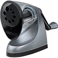 Westcott E-16549 00 - Sacapuntas manual, gris