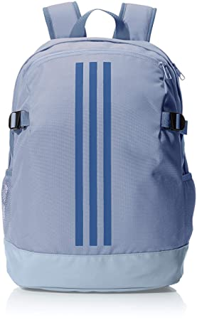 adidas 3-Stripes Power Backpack Medium - Raw Steel Raw Steel Noble Indigo 4d8feadb4f501