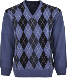 best service 78b96 3aefe Adidas Originals Argyle Golf Sweater Jumper. £34.95 · TCQstore Men s Ribbed  Knitted V-Neck Acrylic, Cotton Argyle Pattern Jumpers.
