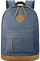EcoCity Classic Canvas Laptop Backpack School Bag Travel Daypack Rucksack Back Pack