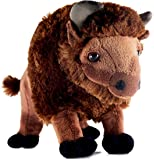 VIAHART Billy The Bison   11 Inch Buffalo Stuffed Animal Plush   by Tiger Tale Toys