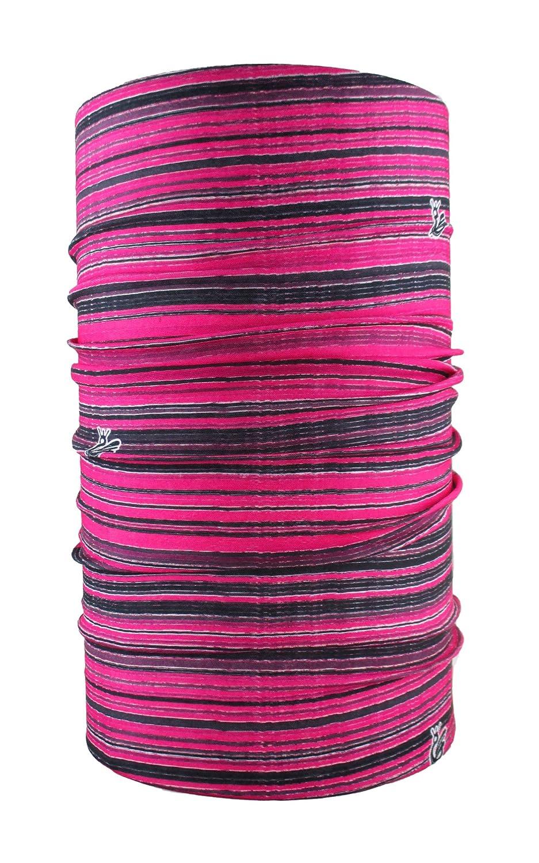 HeadLOOP multifunción Toalla Stripes Bufanda pañuelo Manguera, Color Rosa - Rosa, tamaño Talla única: Amazon.es: Deportes y aire libre