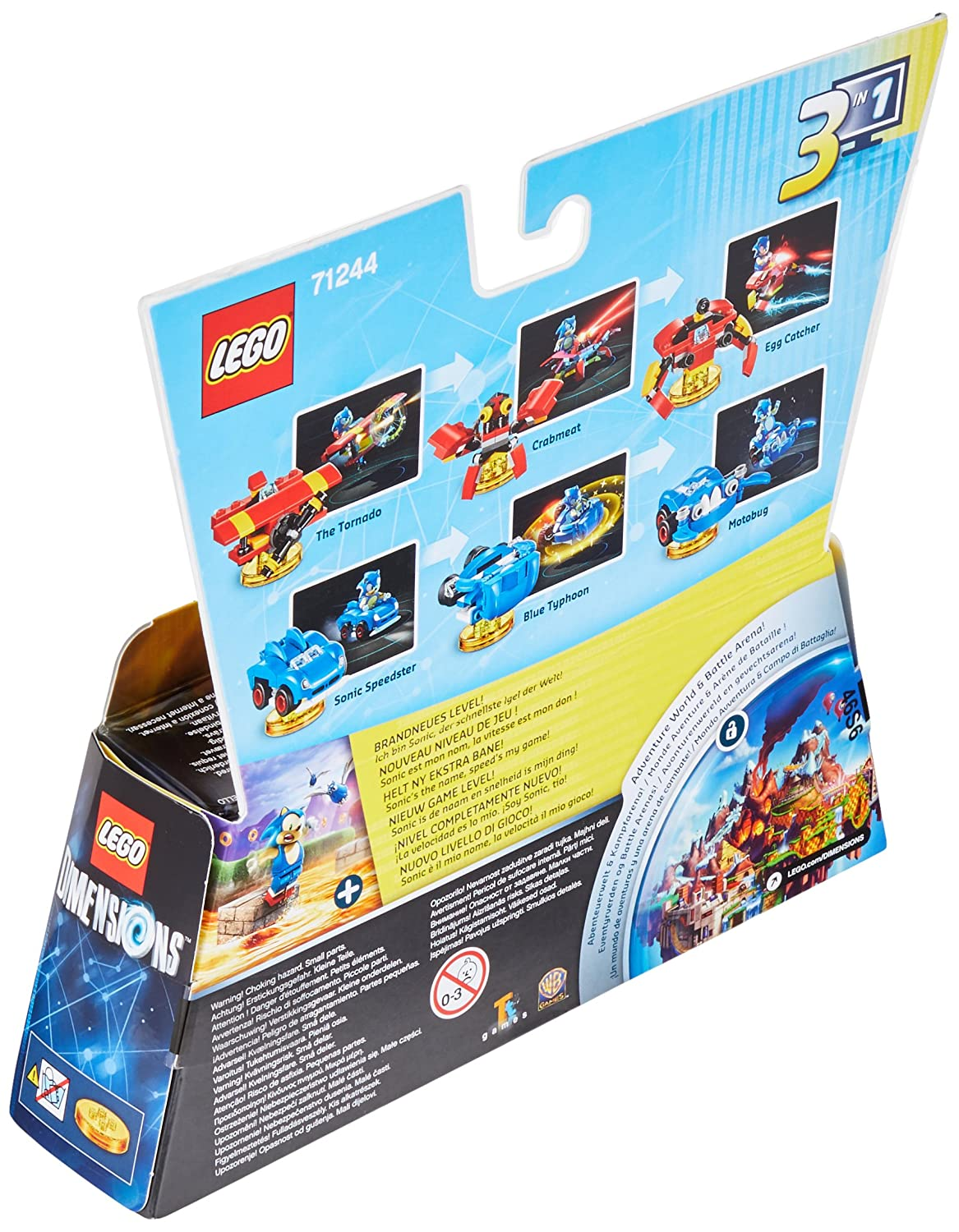 LEGO Dimensions: Sonic Level Pack: Amazon co uk: PC & Video