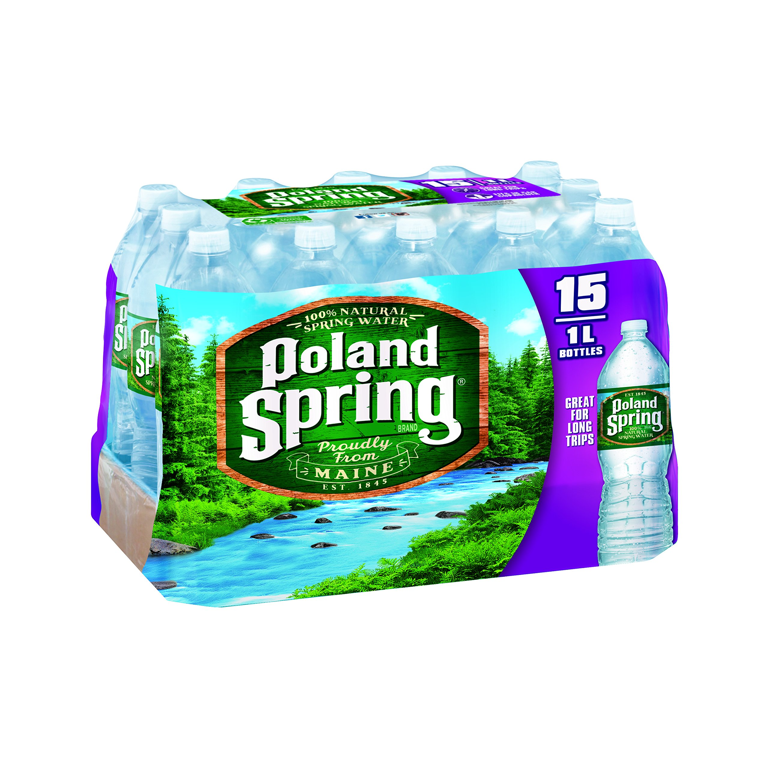 Pol and Springs Spring Water, Original, 1L