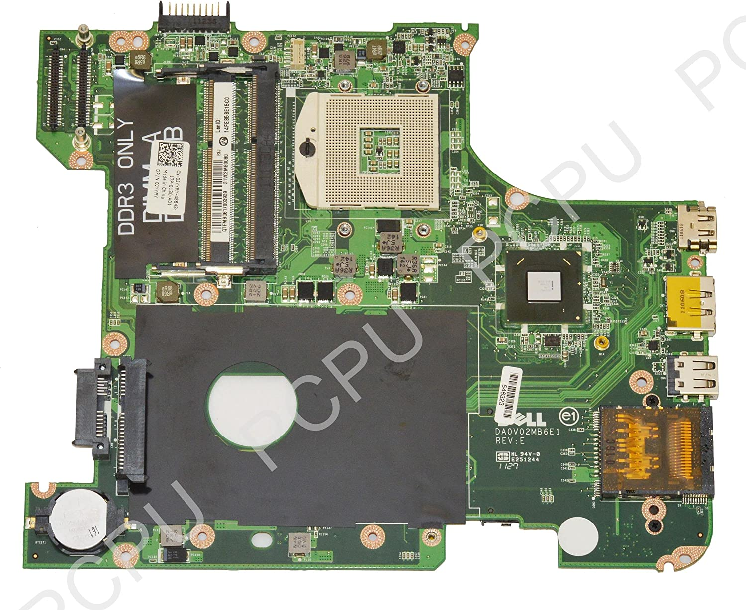 JYYRY Dell Inspiron N4110 Intel Laptop Motherboard s989