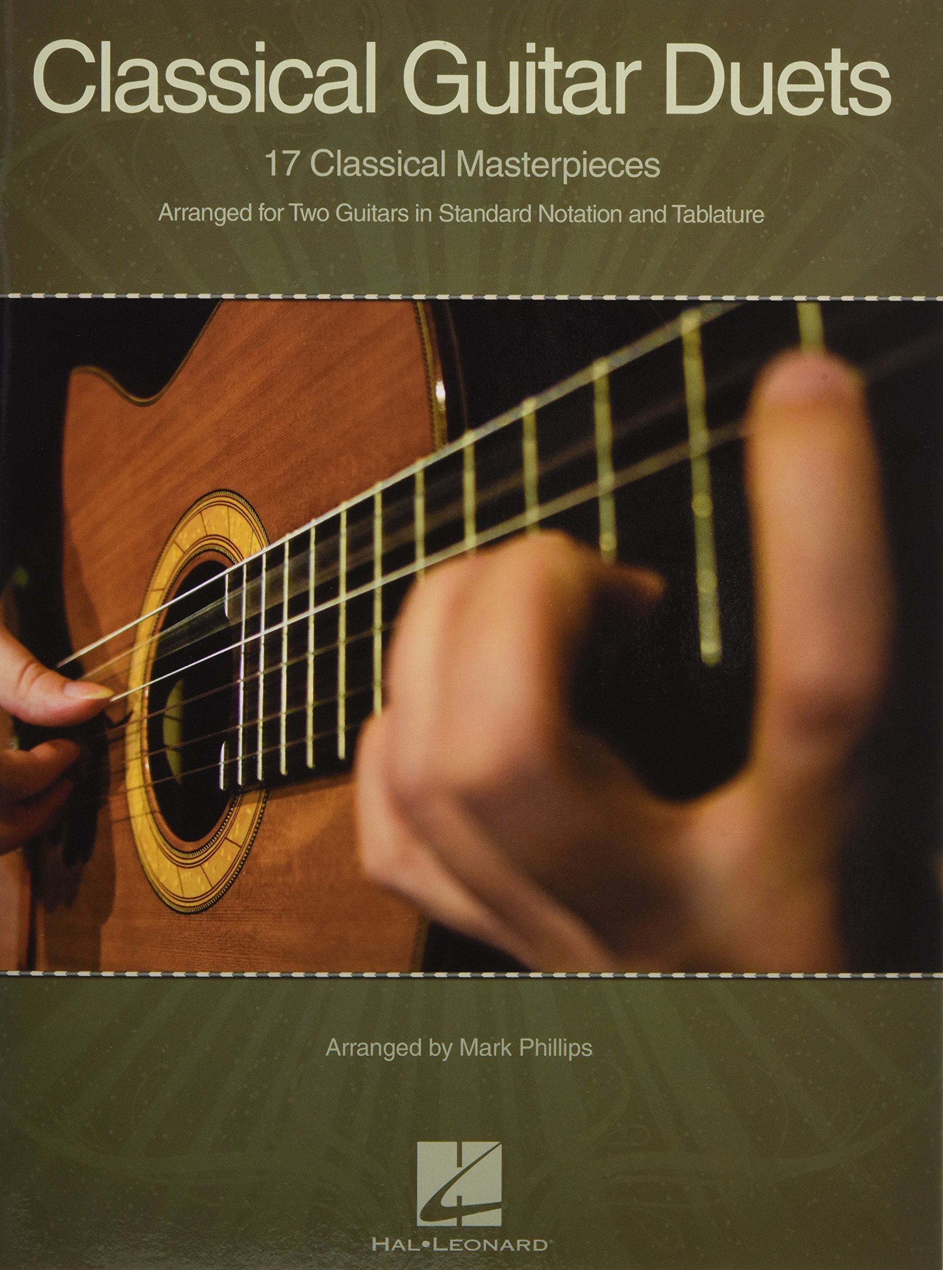 Classical Guitar Duets: 17 Classical Masterpieces: Amazon.es: Hal ...