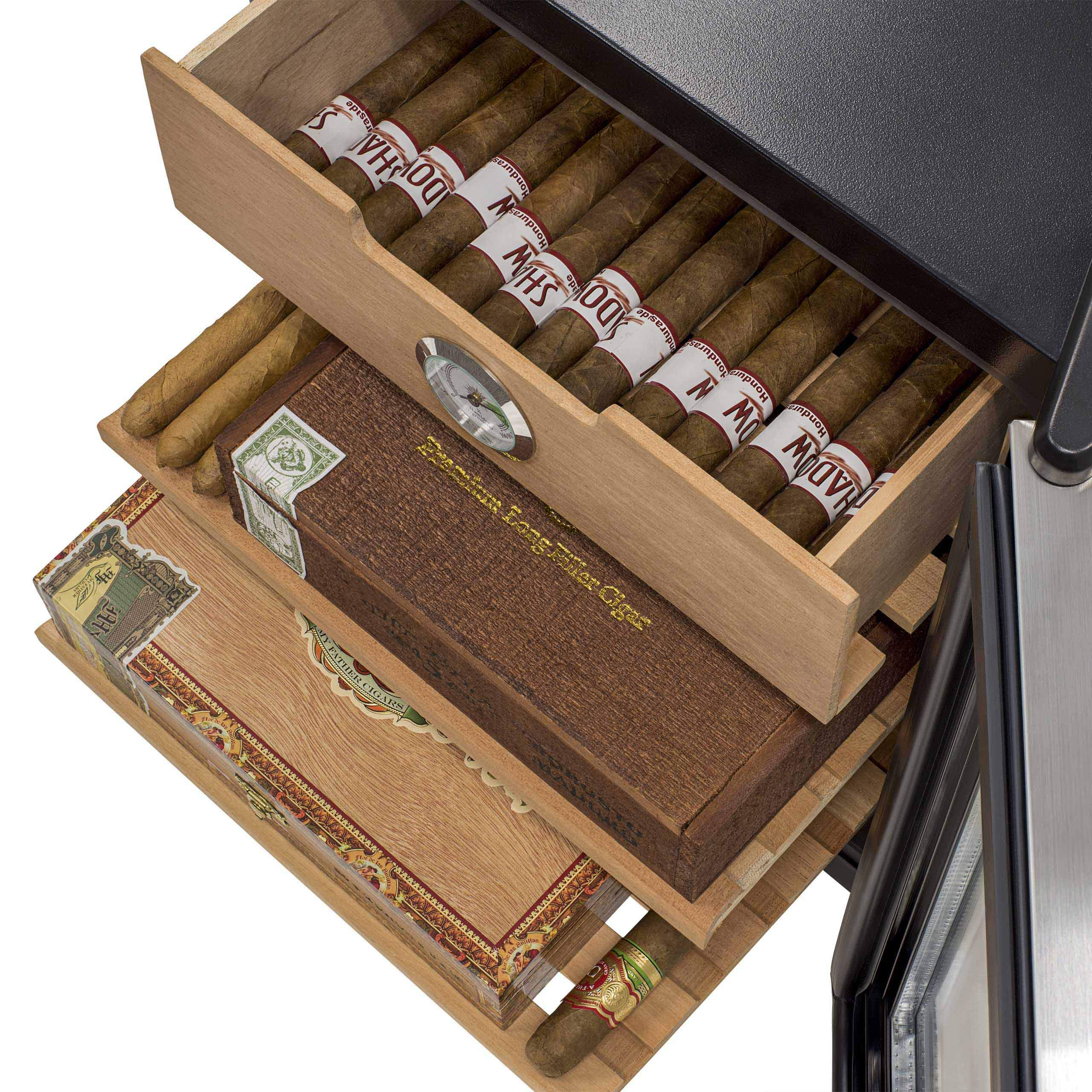 NewAir CC-100H Cigar Cooler and Humidor, 250 Count by NewAir (Image #4)